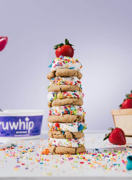 truwhip cookie tower recipe