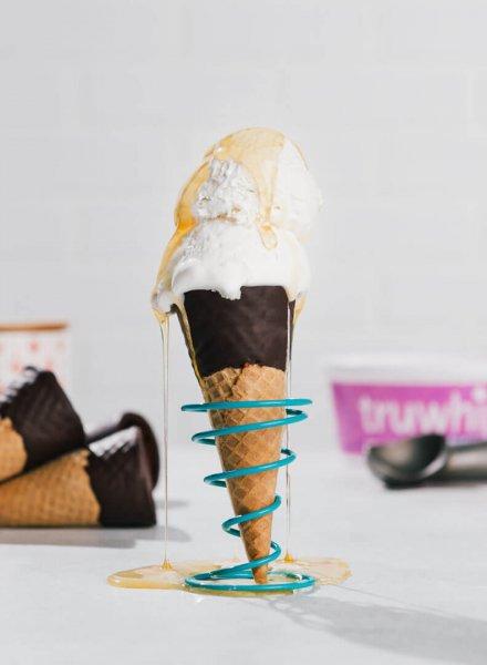 truwhip easy freezy ice cream cone