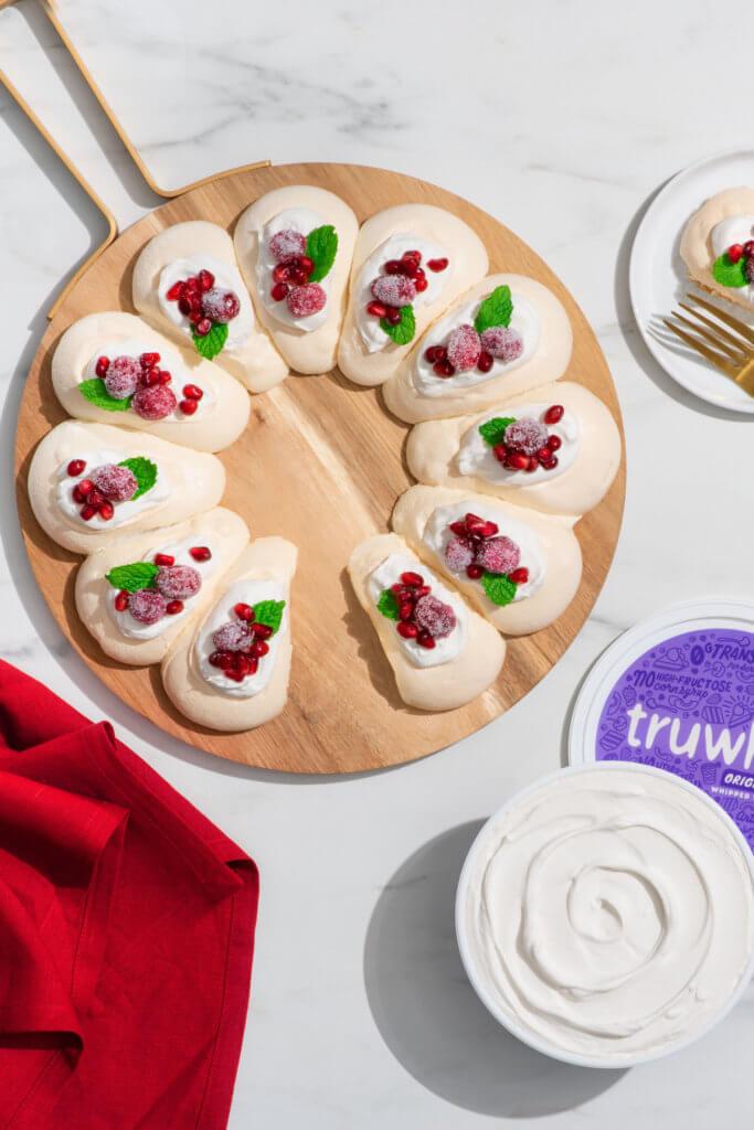 truwhip pavlova holiday recipe